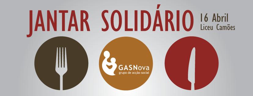 Jantar Solidário 16 Abril